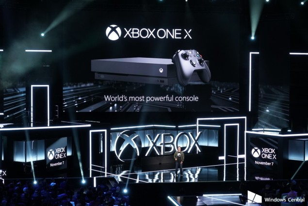 xbox-one-x-e3-2017-stage