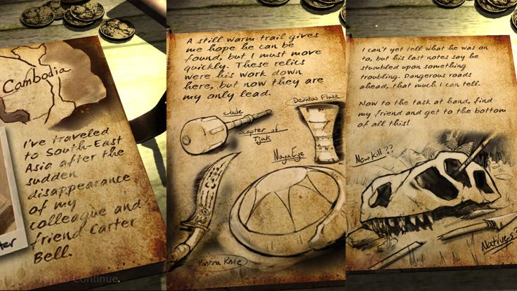 Lara Croft Relic Run - Basic Story